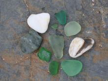 Lovely sea glass