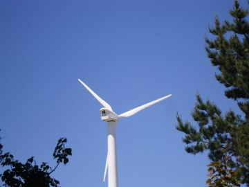 Our brand new wonderful wind turbine